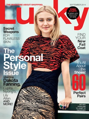 May28th watches - PRESS - LUCKY MAGAZINE, SEPTEMBER 2014