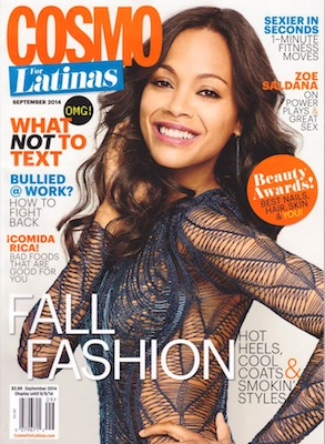May28th watches - PRESS - COSMO FOR LATINAS, SEPTEMBER 2014