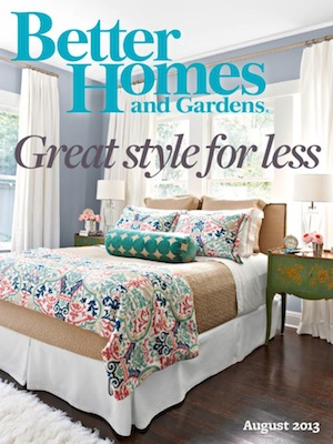 May28th watches - PRESS - BETTER HOMES AND GARDENS, AUGUST 2013