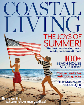 May28th watches - PRESS - COASTAL LIVING, JULY 2013
